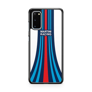 Martini Racing Stripes Samsung Galaxy S20 Phone Case