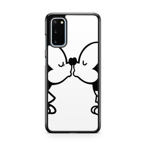Mickey And Minnie Kissing Samsung Galaxy S20 Phone Case