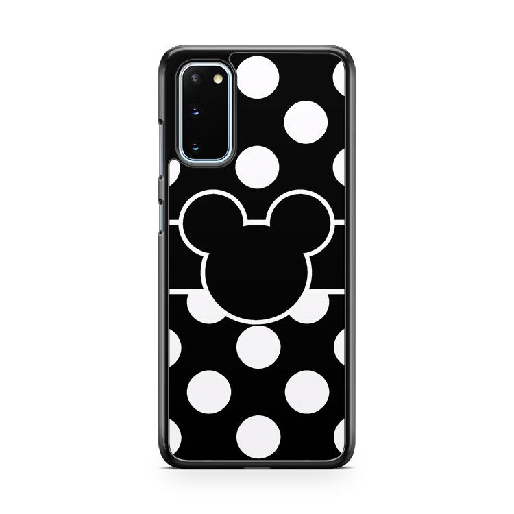 Mickey Mouse Polka Dot Samsung Galaxy S20 Phone Case