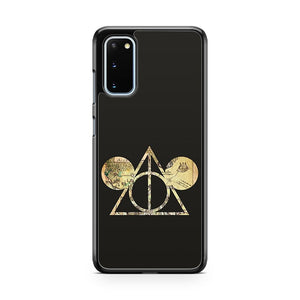 Mickey's Deathly Hallows Samsung Galaxy S20 Phone Case