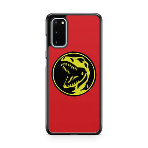 Red Ranger Coin Samsung Galaxy S20 Phone Case