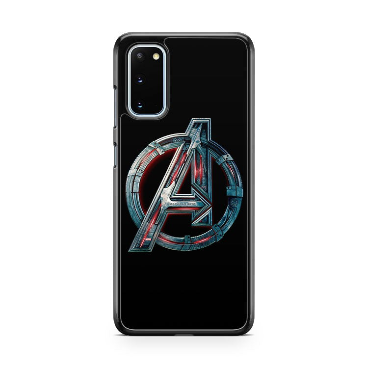 The Avengers Age Of Ultron Logo Assemble 2015 Samsung Galaxy S20 Phone Case