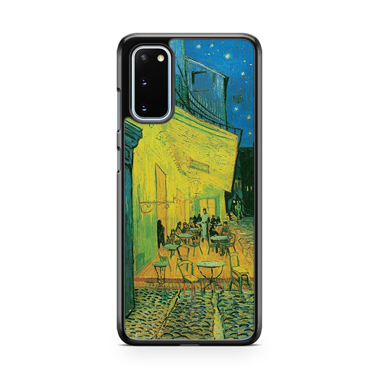 The Cafe Terrace Vincent Van Gogh Samsung Galaxy S20 Phone Case