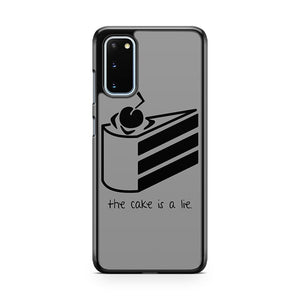 The Cake Is A Lie Samsung Galaxy S20 Phone Case