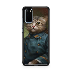 The Hermitage Court Confectioner Apprentice Cat Samsung Galaxy S20 Phone Case