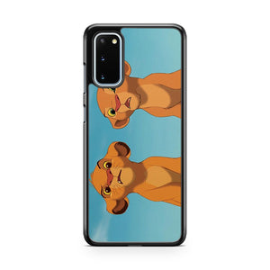 The Lion King Simba And Nala Samsung Galaxy S20 Phone Case