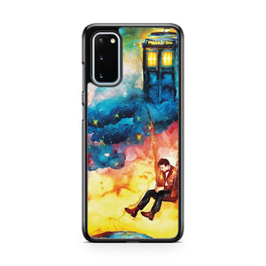 The Man Who Lived On A Cloud Doctor Who Samsung Galaxy S20 Phone Case