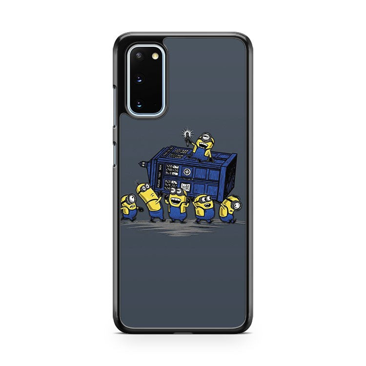 The Minions Have The Phone Box Samsung Galaxy S20 Phone Case