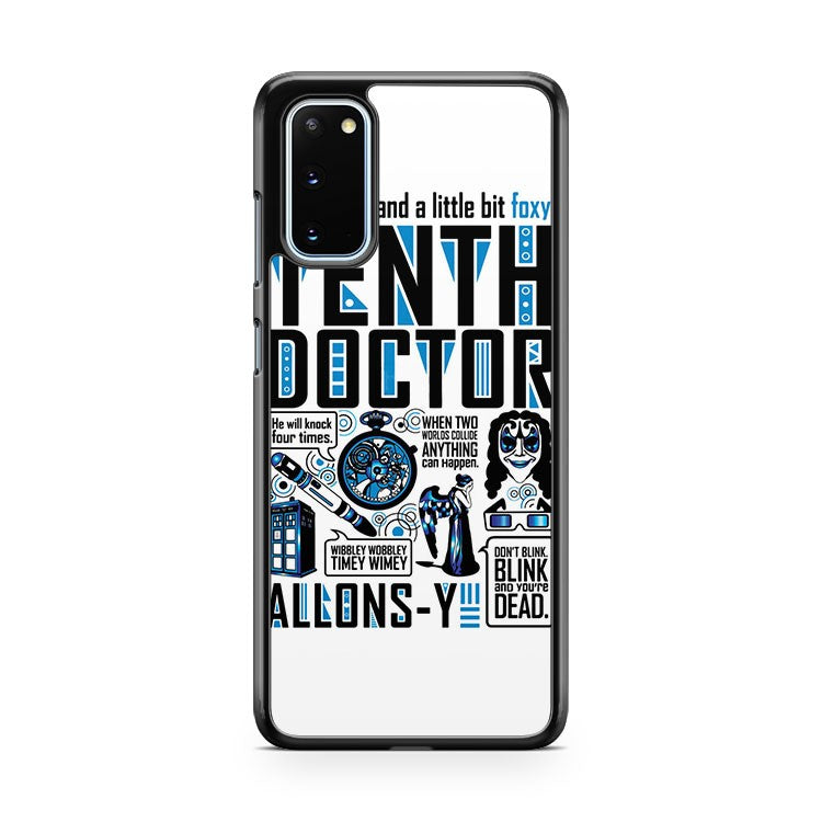 The Tenth Doctor Samsung Galaxy S20 Phone Case