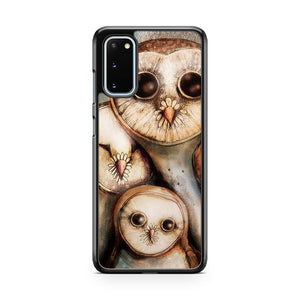 Three Wise Owls Samsung Galaxy S20 Phone Case