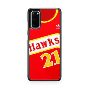 Basketball Dominique Wilkins Samsung Galaxy S20 Phone Case