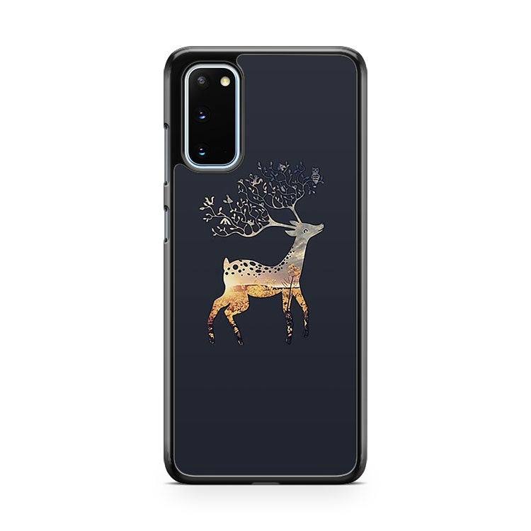 Deer Christmas Pattern Samsung Galaxy S20 Phone Case