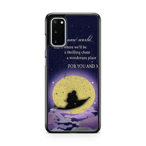 Disney Funny Quotes Samsung Galaxy S20 Phone Case