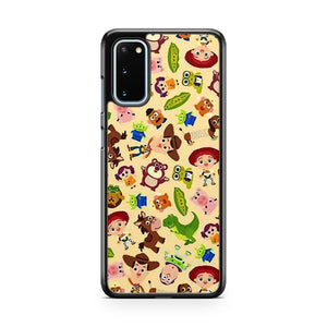 Disney Pattern Toy Story S8 3D Samsung Galaxy S20 Phone Case