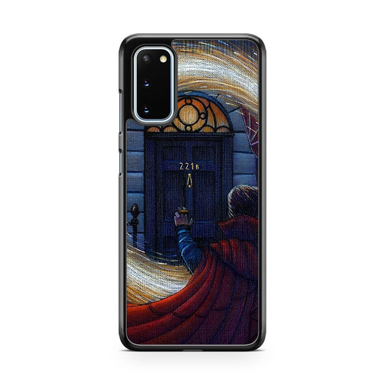 Doctor Strange And Sherlock Crossover Samsung Galaxy S20 Phone Case