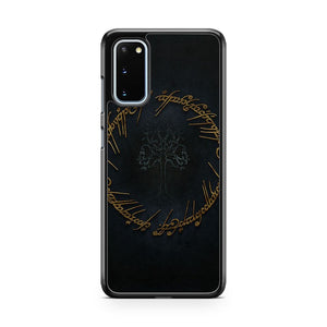 Lord Of The Rings Pattern Style Samsung Galaxy S20 Phone Case