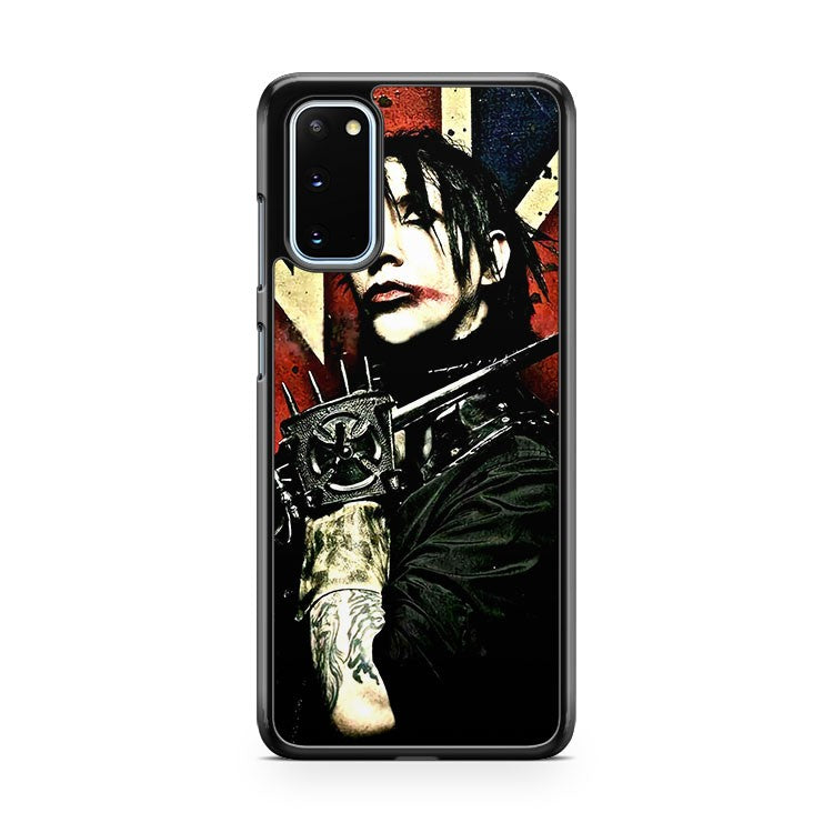 Marilyn Manson Band Quotes And Devil Samsung Galaxy S20 Phone Case