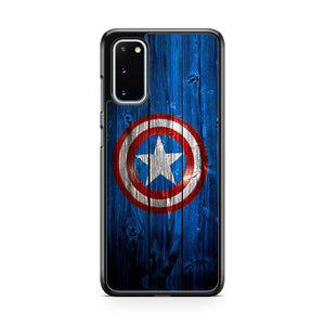 Marvel Comics Captain America Wall Samsung Galaxy S20 Phone Case