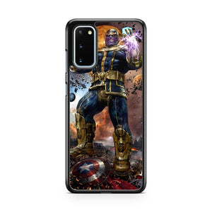 Marvel Thanos The Mad God Samsung Galaxy S20 Phone Case
