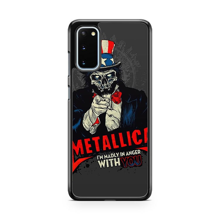 Metallica Music And Rock Bands Samsung Galaxy S20 Phone Case