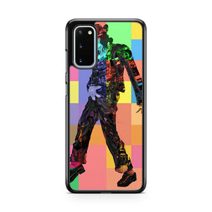 Michael Jackson Art The King Of Pop Samsung Galaxy S20 Phone Case
