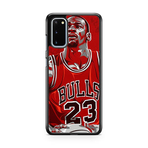 Michael Jordan 23 Samsung Galaxy S20 Phone Case