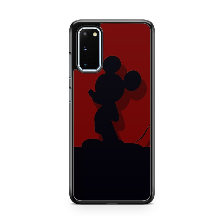 Mickey Mouse Silhouette Samsung Galaxy S20 Phone Case