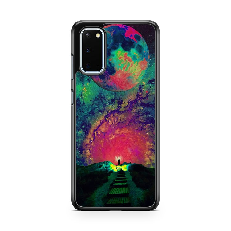 Psychedelic Art Samsung Galaxy S20 Phone Case