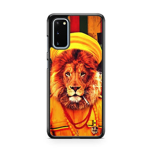 Rasta Lion King 2 Samsung Galaxy S20 Phone Case