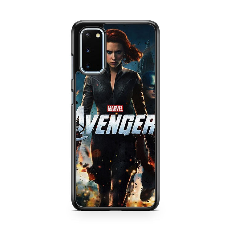 The Avengers Age Of Ultron Black Widow Samsung Galaxy S20 Phone Case