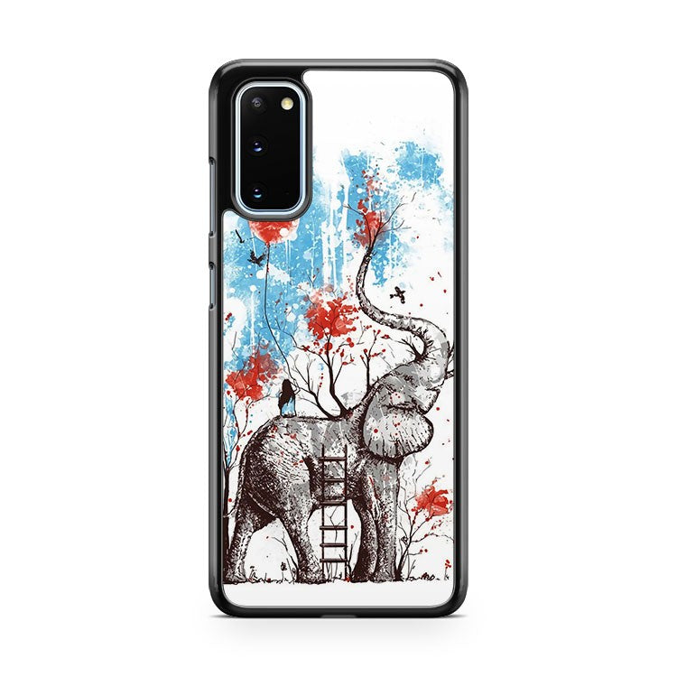The Elephant And The Little Girl Samsung Galaxy S20 Phone Case