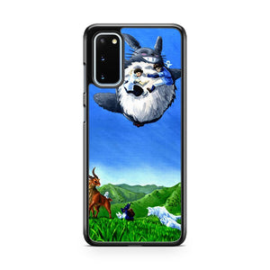 The Forest King Lives Totoro Samsung Galaxy S20 Phone Case