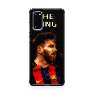 The King Lionel Messi 10 Samsung Galaxy S20 Phone Case