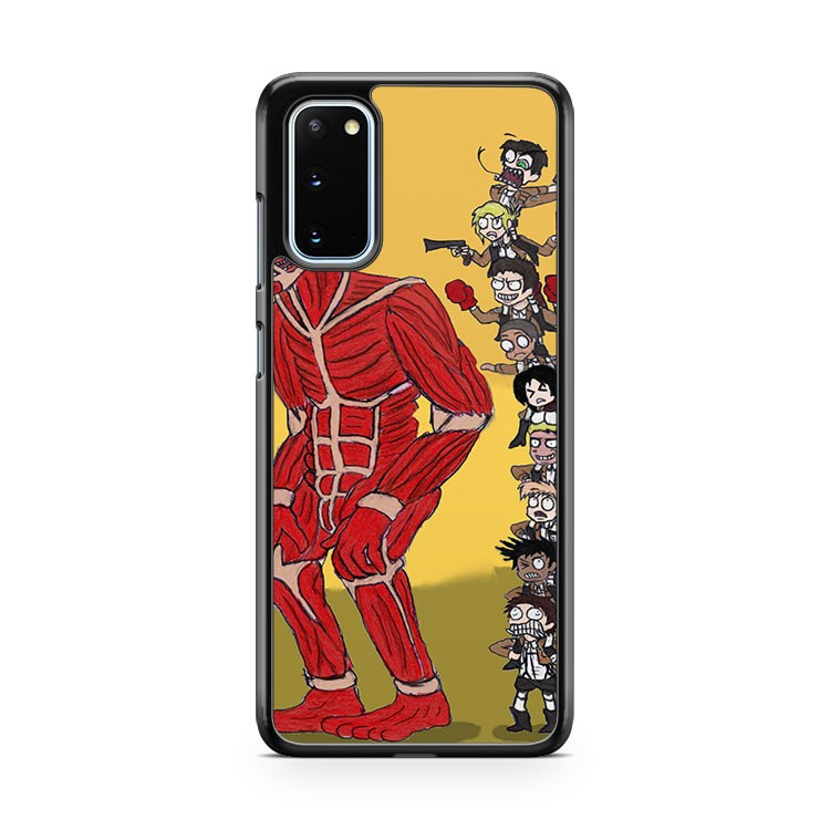 Attack On Titan In A Nutshell Samsung Galaxy S20 Phone Case
