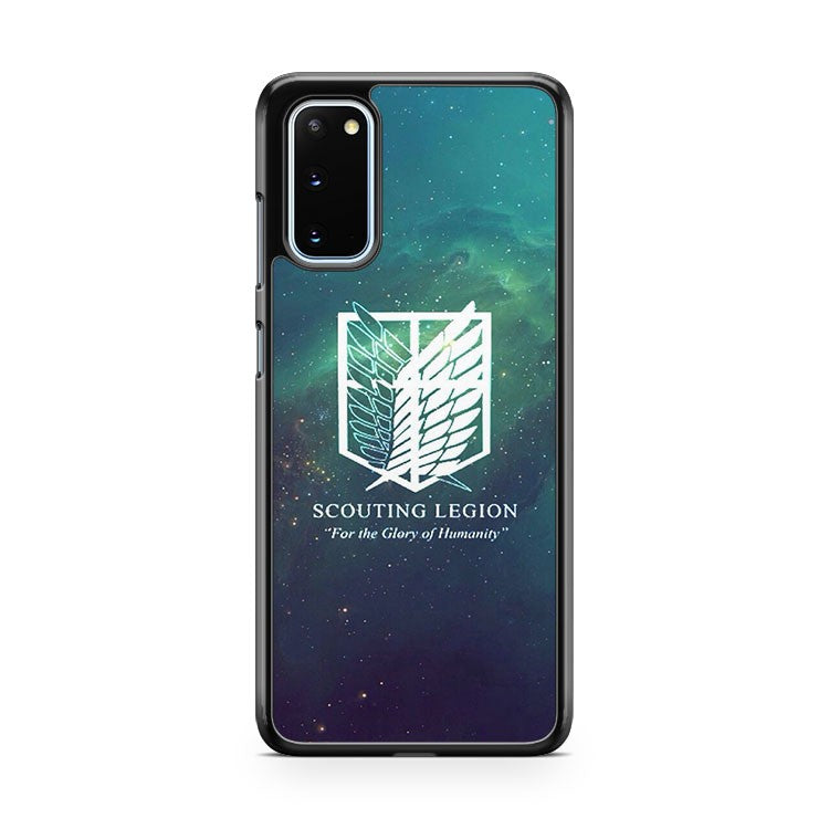 Attack On Titan Souting Legion Samsung Galaxy S20 Phone Case