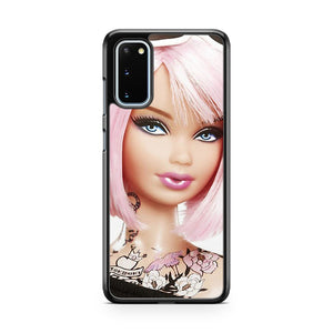 Barbie Head And Shoulders Tattooed Samsung Galaxy S20 Phone Case