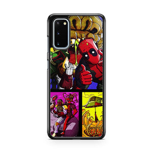 Deadpool And Boba Fett Samsung Galaxy S20 Phone Case