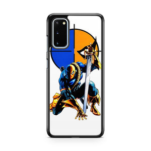 Deadpool And Deathstroke Samsung Galaxy S20 Phone Case