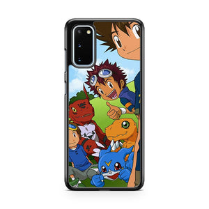Digimon Characters Selfie 23 Samsung Galaxy S20 Phone Case