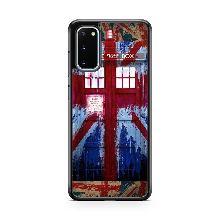 Doctor Who Union Jack Tardis Samsung Galaxy S20 Phone Case