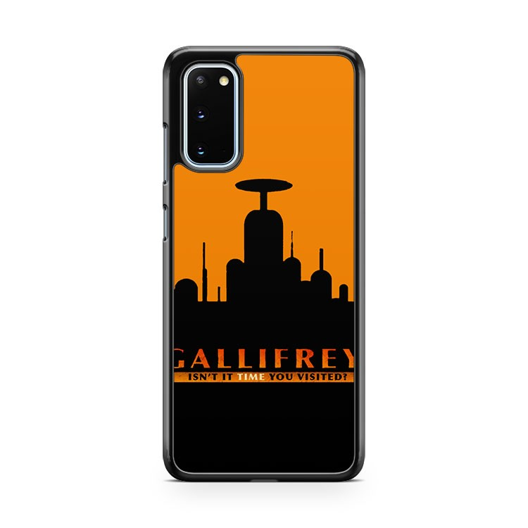 Doctor Who Visit Gallifrey Samsung Galaxy S20 Phone Case