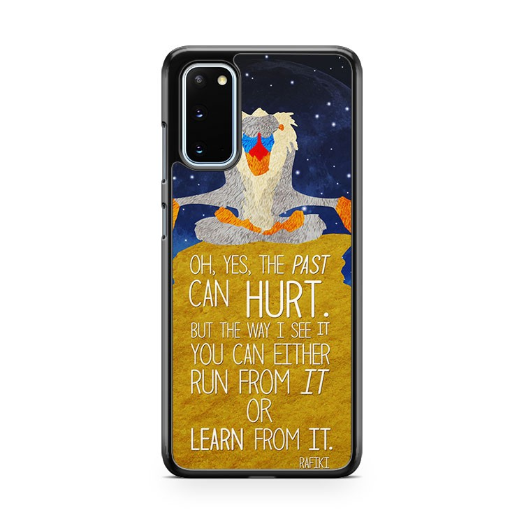 Lion King Memorable Rafikin Quotes Samsung Galaxy S20 Phone Case