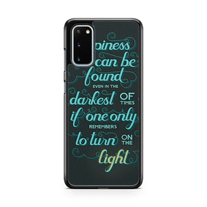 Love Quotes From Harry Potter Samsung Galaxy S20 Phone Case
