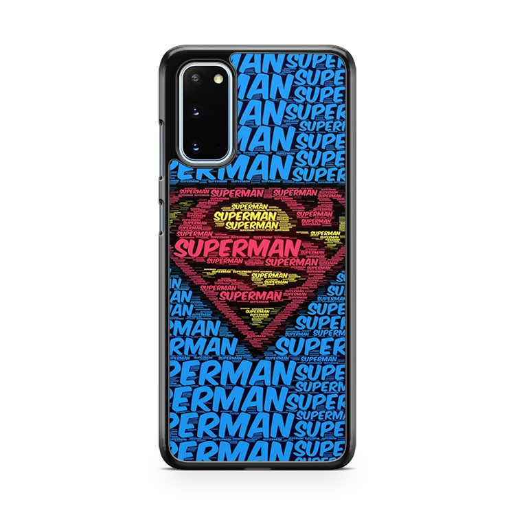 Made From Superman Text Samsung Galaxy S20 Phone Case