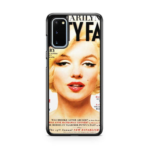 Marilyn Monroe Vanity Cover Samsung Galaxy S20 Phone Case