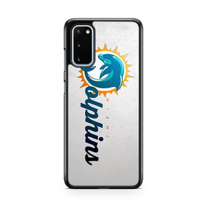 Miami Dolphins Icon Samsung Galaxy S20 Phone Case