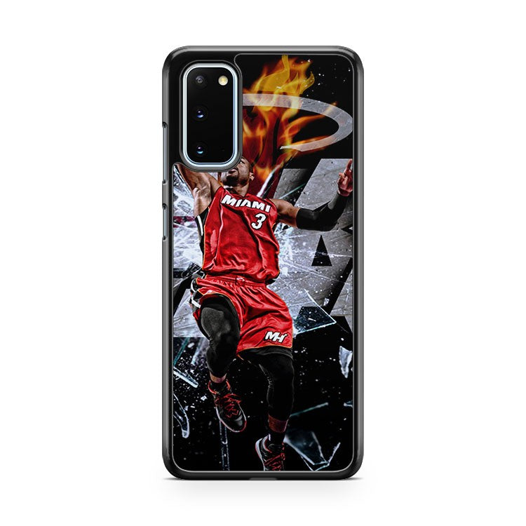 Miami Heat Player Jumping Samsung Galaxy S20 Phone Case