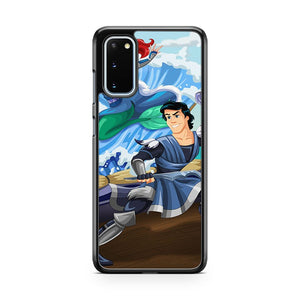 Prince Eric And Ariel Of The Water Tribe Samsung Galaxy S20 Phone Case