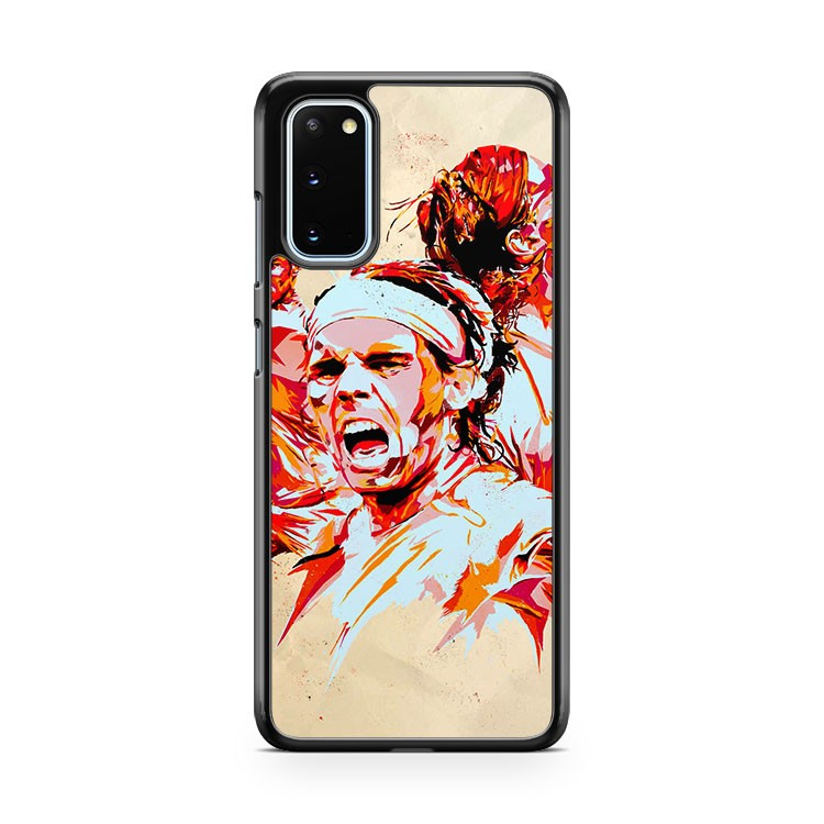 Rafael Nadal Art Painting Samsung Galaxy S20 Phone Case