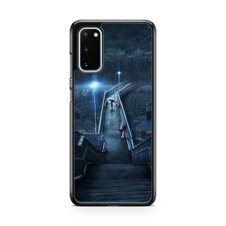 Rainy Night Anime Samsung Galaxy S20 Phone Case